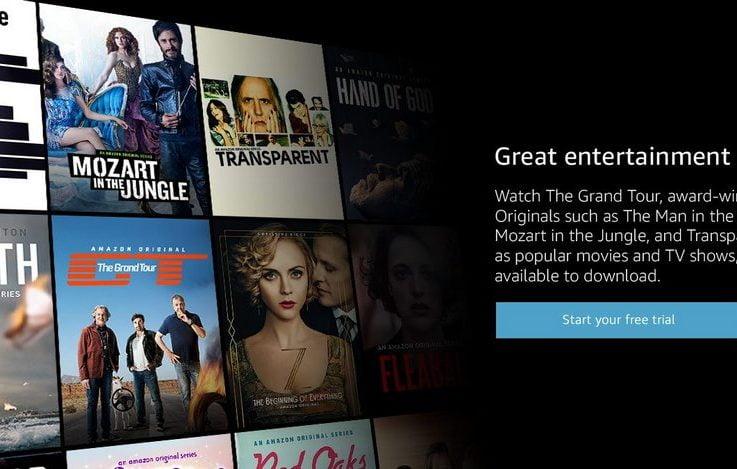 Slik ser du Amazon Prime med NordVPN