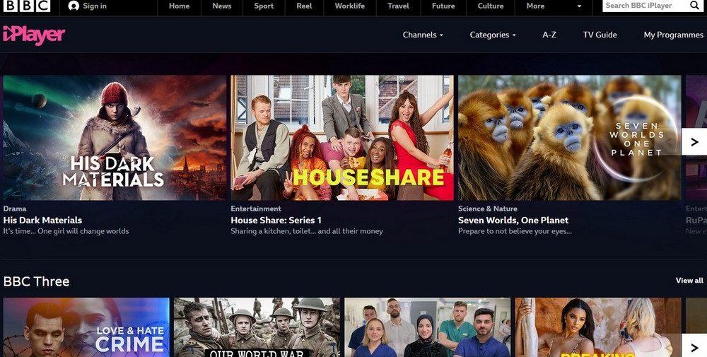Slik ser du BBC med NordVPN