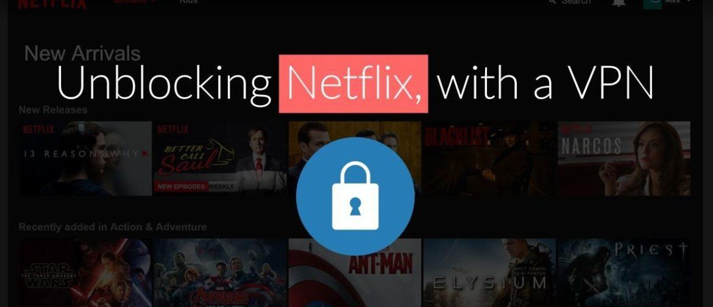 Se Netflix med NordVPN